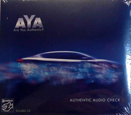 STOCKFISCH SFR357.9017.2 AYA AUTHENTIC AUDIO CHECK 2 DOUBLE CD